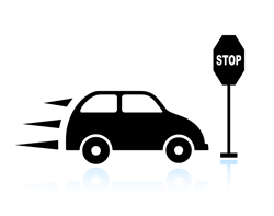 Bötesbelopp för trafikförseelser